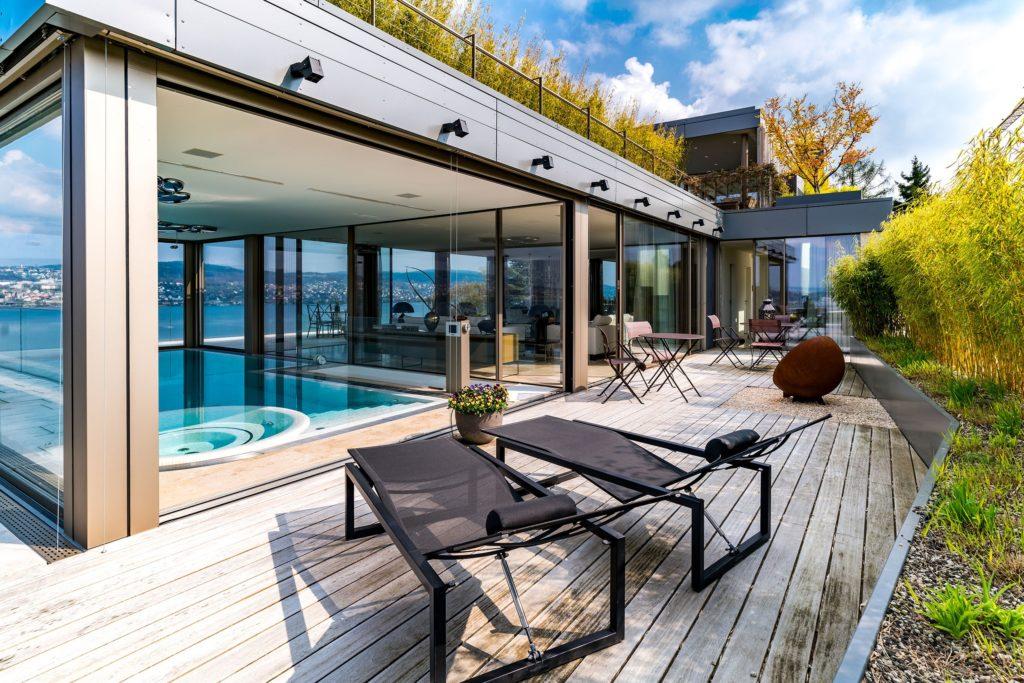 Berger Gartenbau Pool indoor