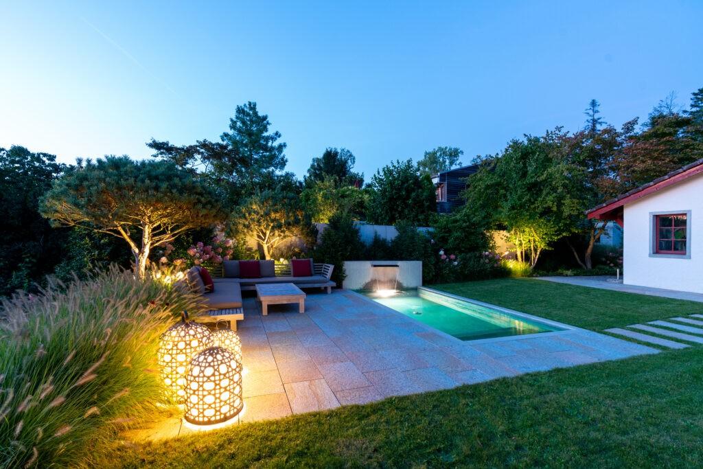 Berger Gartenbau - Gartendesign, einfach schön mit Pool