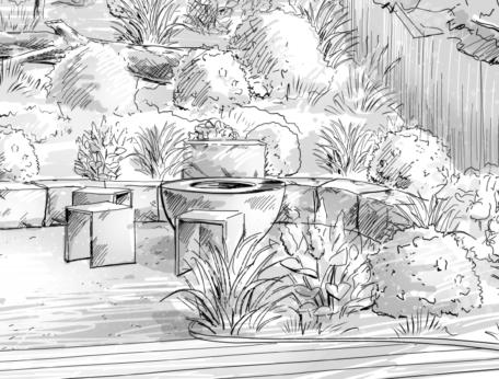 Berger Gartenbau Gartenplanung