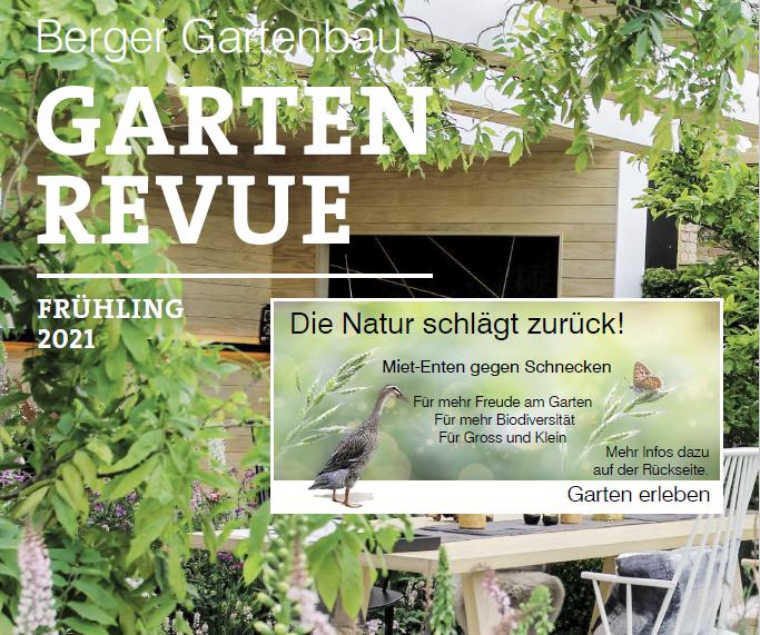 1. Seite Garten Revue